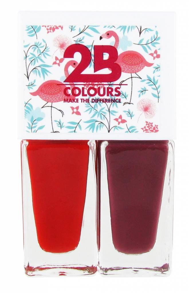2B Cosmetics Nail polish Duo - Summer 04
