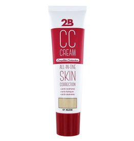 2B Cosmetics CC CREAM - 01 NUDE