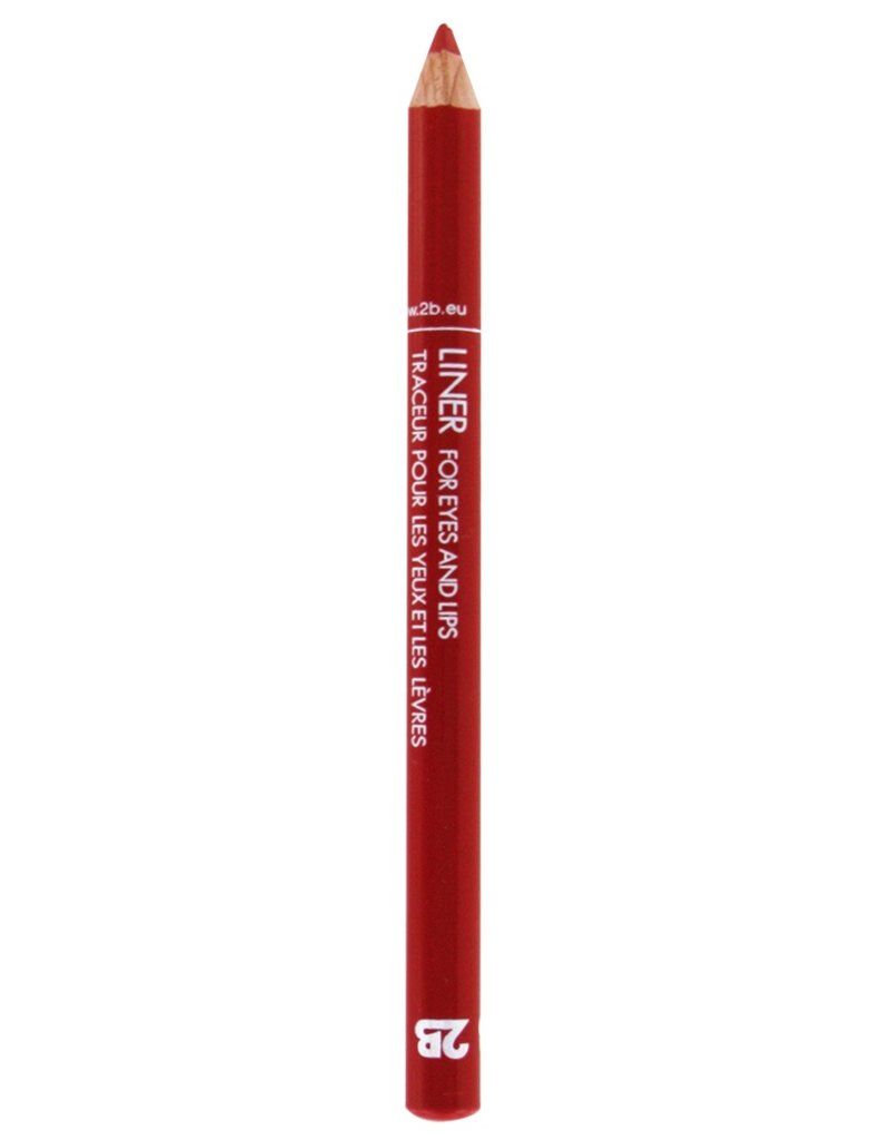 2B Cosmetics Liner for Eyes & Lips - Sweet Cherry