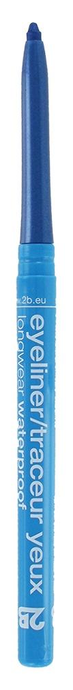 2B Cosmetics Eyeliner retractable waterproof - 02 grey blue