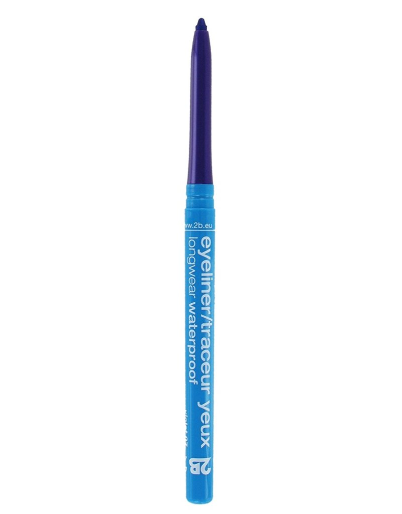 2B Cosmetics Eyeliner retractable waterproof - 07 violet