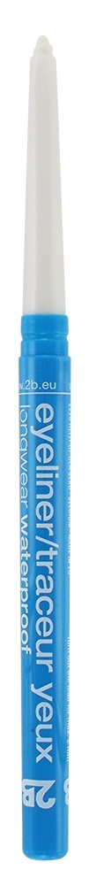 2B Cosmetics Eyeliner retractable waterproof - 01 white