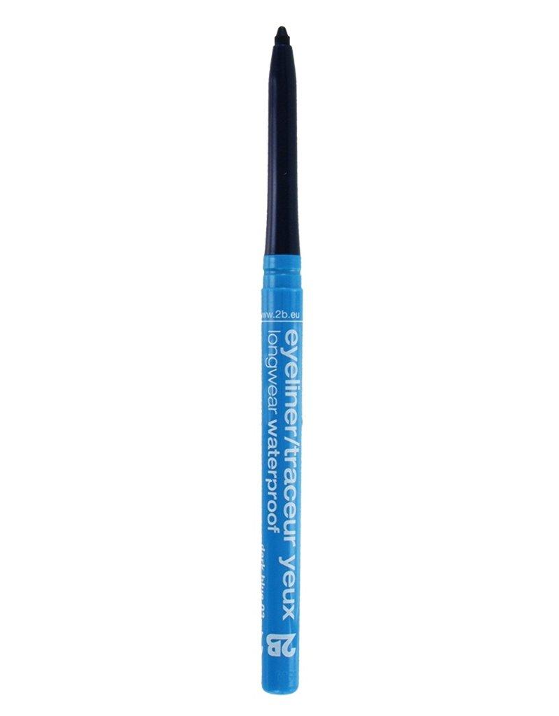 2B Cosmetics Eyeliner retractable waterproof - 03 dark blue