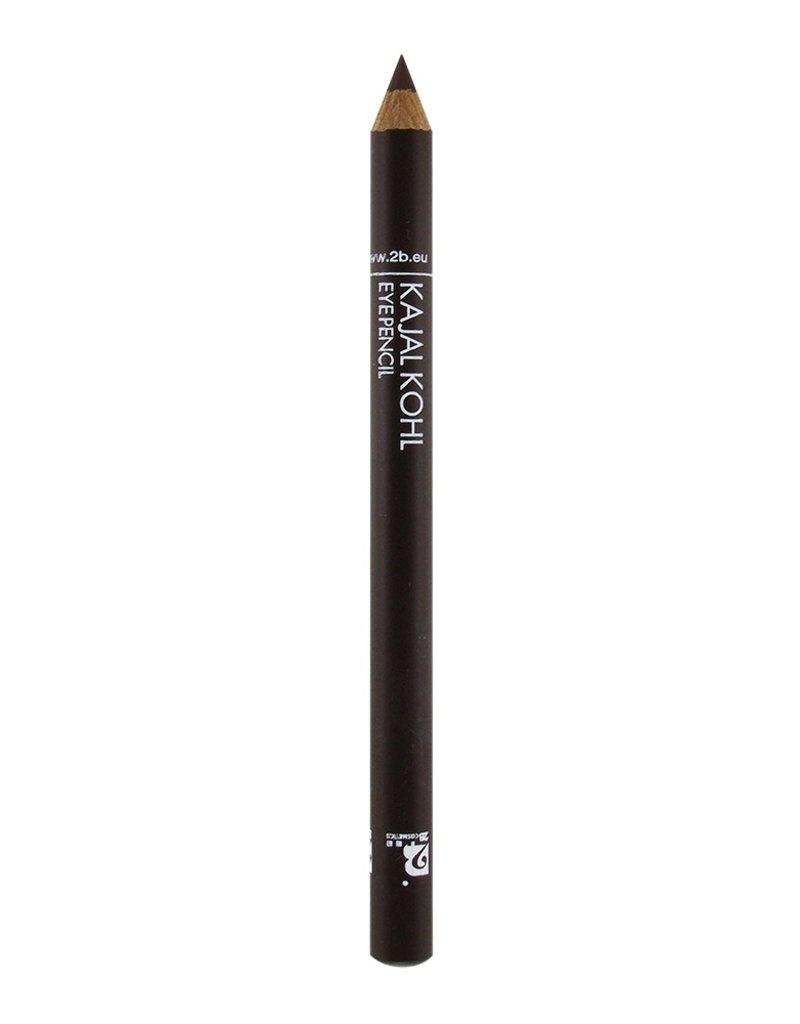 2B Cosmetics Kajal Oogpotlood - 07 Bruin