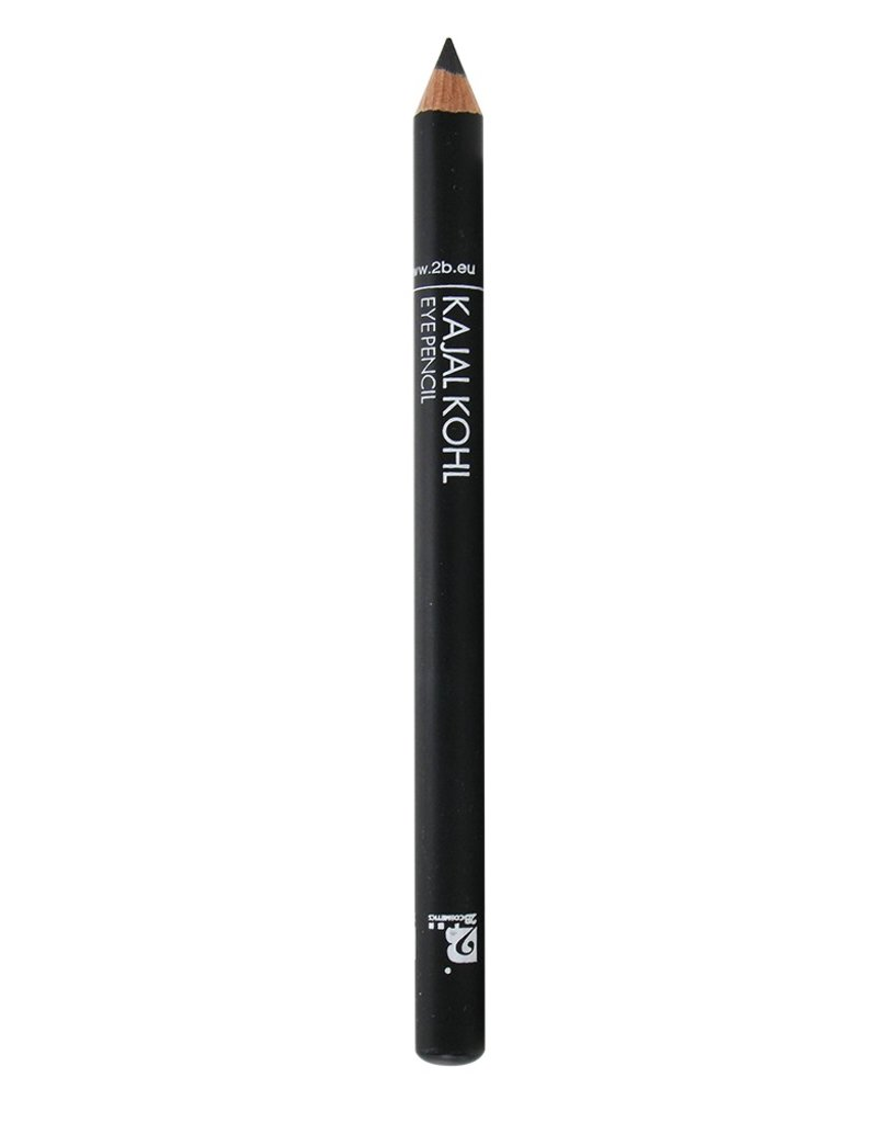 2B Cosmetics Kajal Oogpotlood - 09 Zwart