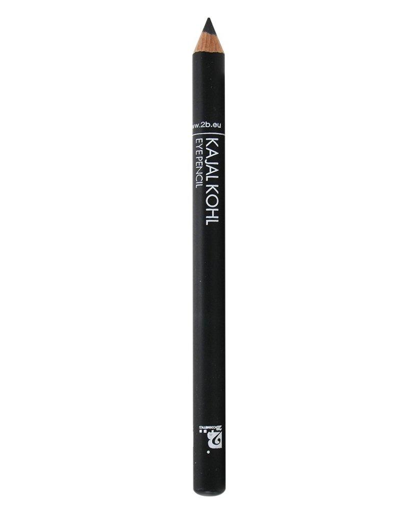 2B Cosmetics Kajal Pencil - 09 Black