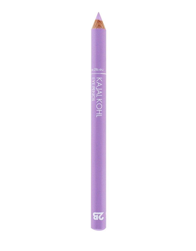 2B Cosmetics Crayon Kajal - 18 Violet