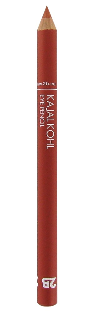 2B Cosmetics Kajal Pencil - 19 Coral red