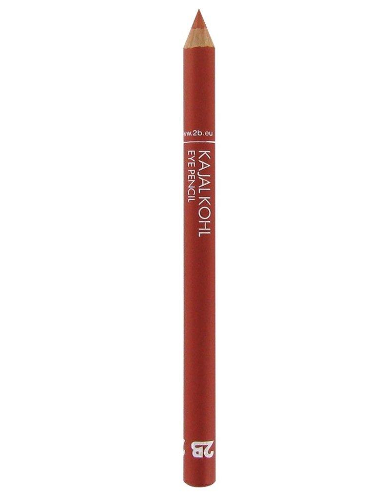 2B Cosmetics Kajal Oogpotlood - 19 Koraal rood