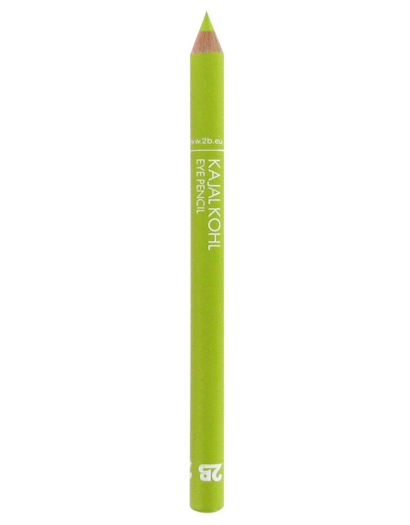 2B Cosmetics Crayon Kajal - 20 Vert citron