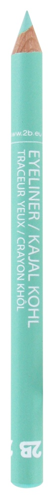 2B Cosmetics Eyeliner / Kajal Pencil - 25 Duck egg blue