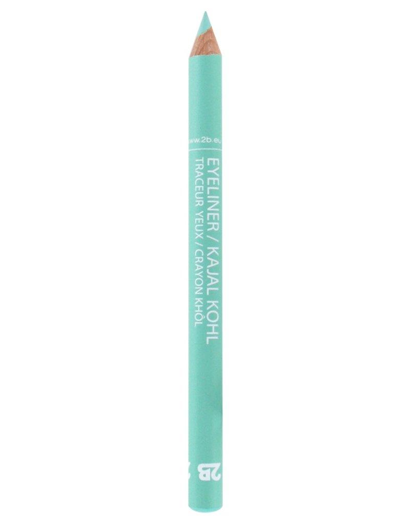 2B Cosmetics Eyeliner / Kajal Oogpotlood - 25 Duck egg blue