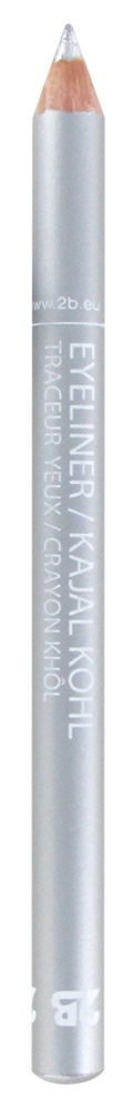 2B Cosmetics Traceur Yeux / Crayon Kajal - 28 Solid silver