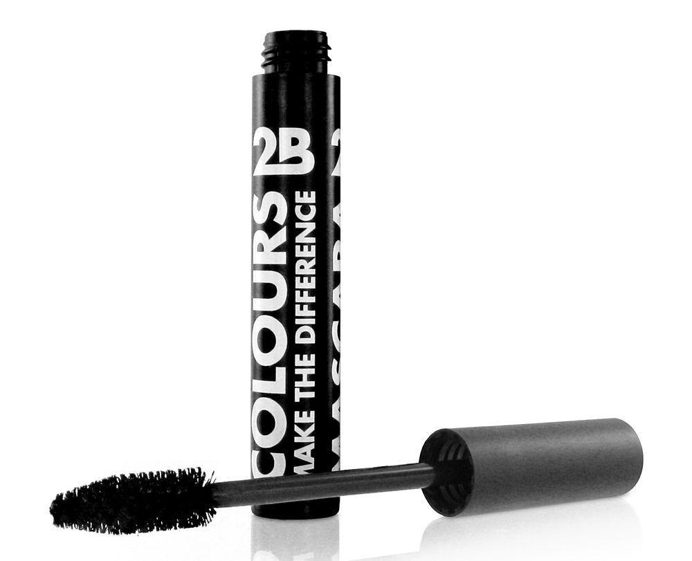 2B Cosmetics Mascara Colours - 01 Black