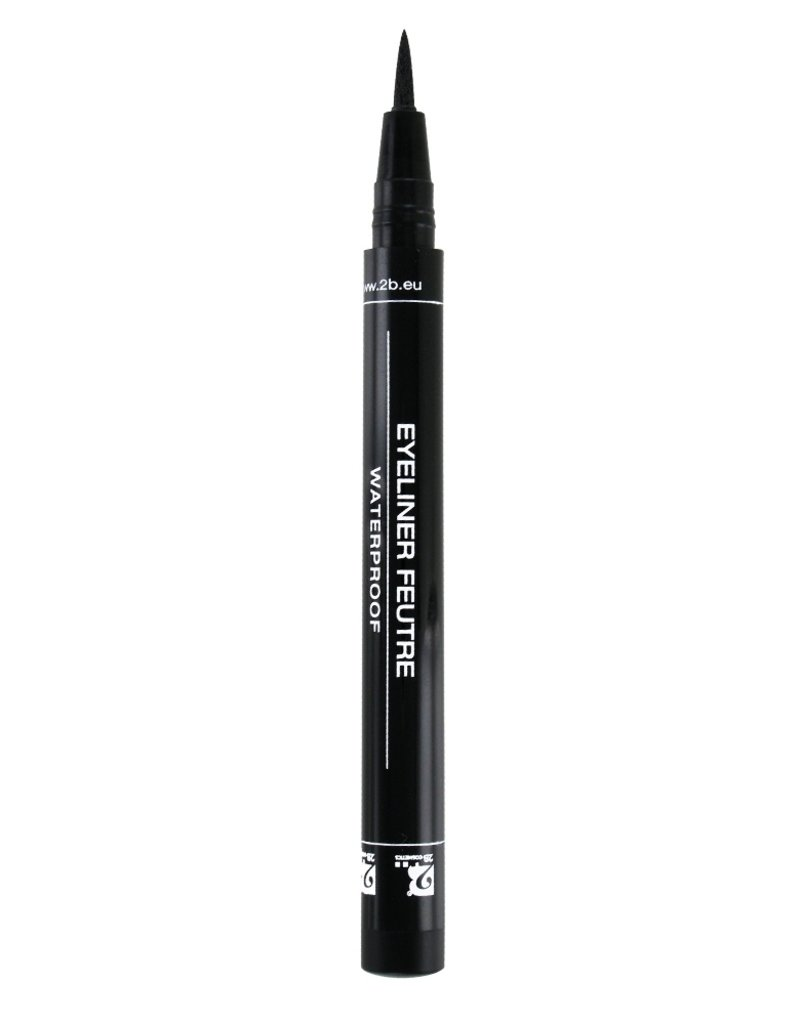 2B Cosmetics Eyeliner feutre 01 black
