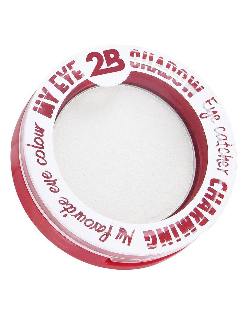 2B Cosmetics MY EYE SHADOW - WHITE