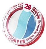 2B Cosmetics TRIO EYE SHADOW MIX & MATCH - WHITE/AZURE/BLUE