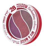 2B Cosmetics TRIO EYE SHADOW MIX & MATCH - TAUPE/PINK/BURGUNDY