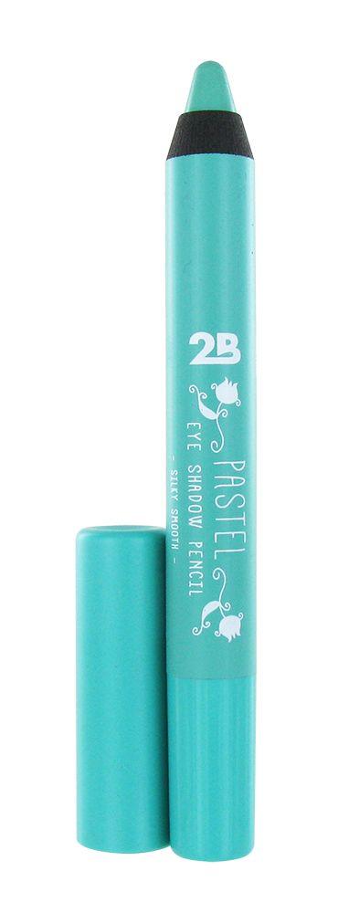 2B Cosmetics EYE SHADOW PENCIL PASTEL - 04 MINT