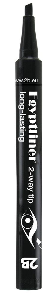 2B Cosmetics EGYPTLINER - ZWART