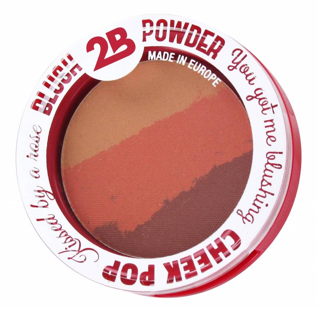 2B Cosmetics BLUSH TRIO 02 ORANGE