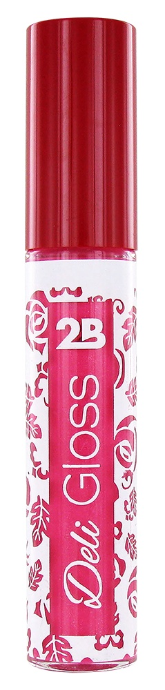 2B Cosmetics DELI GLOSS 06 Bright Pink