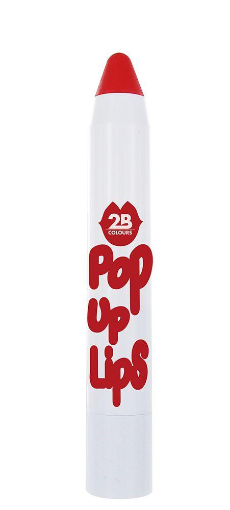 2B Cosmetics POP UP LIPS 06 Amazing tomato red