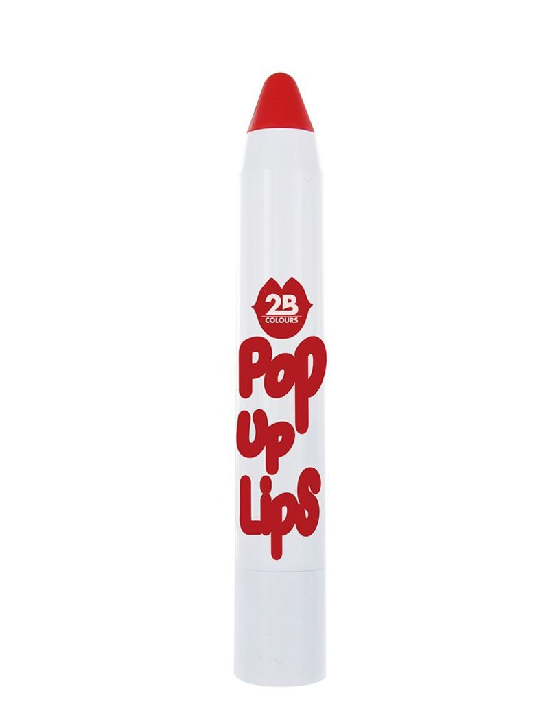 2B Cosmetics POP UP LIPS 06 Amazing tomato red