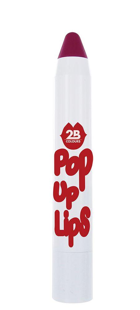 2B Cosmetics POP UP LIPS 08 Vivacious violet