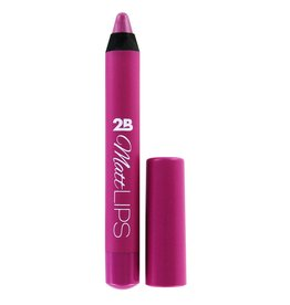 2B Cosmetics MATT LIPS 02 Soft Raspberry