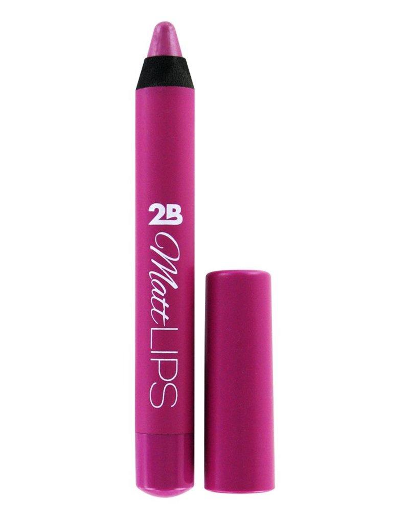2B Cosmetics MATT LIPS 02 Soft Raspberry