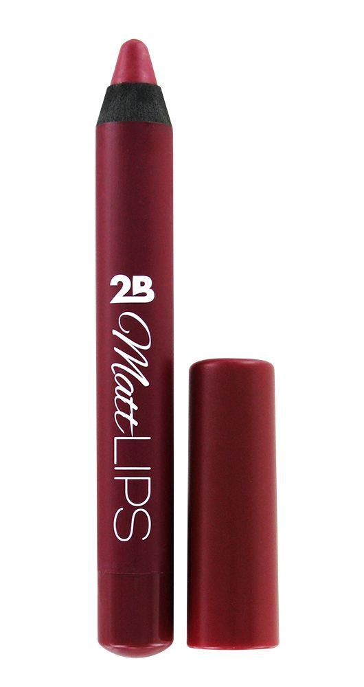 2B Cosmetics MATT LIPS 03 Deep Red