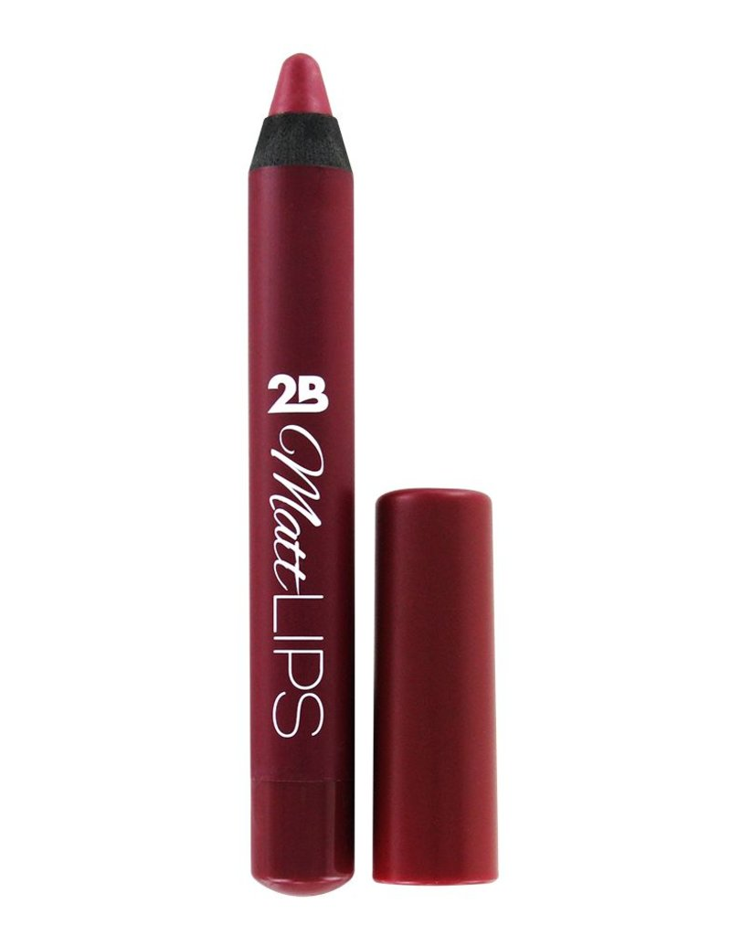 2B Cosmetics MATT LIPS 03 Deep Red