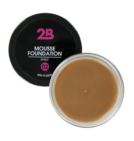 2B Cosmetics MOUSSE FOUNDATION 02 Sable