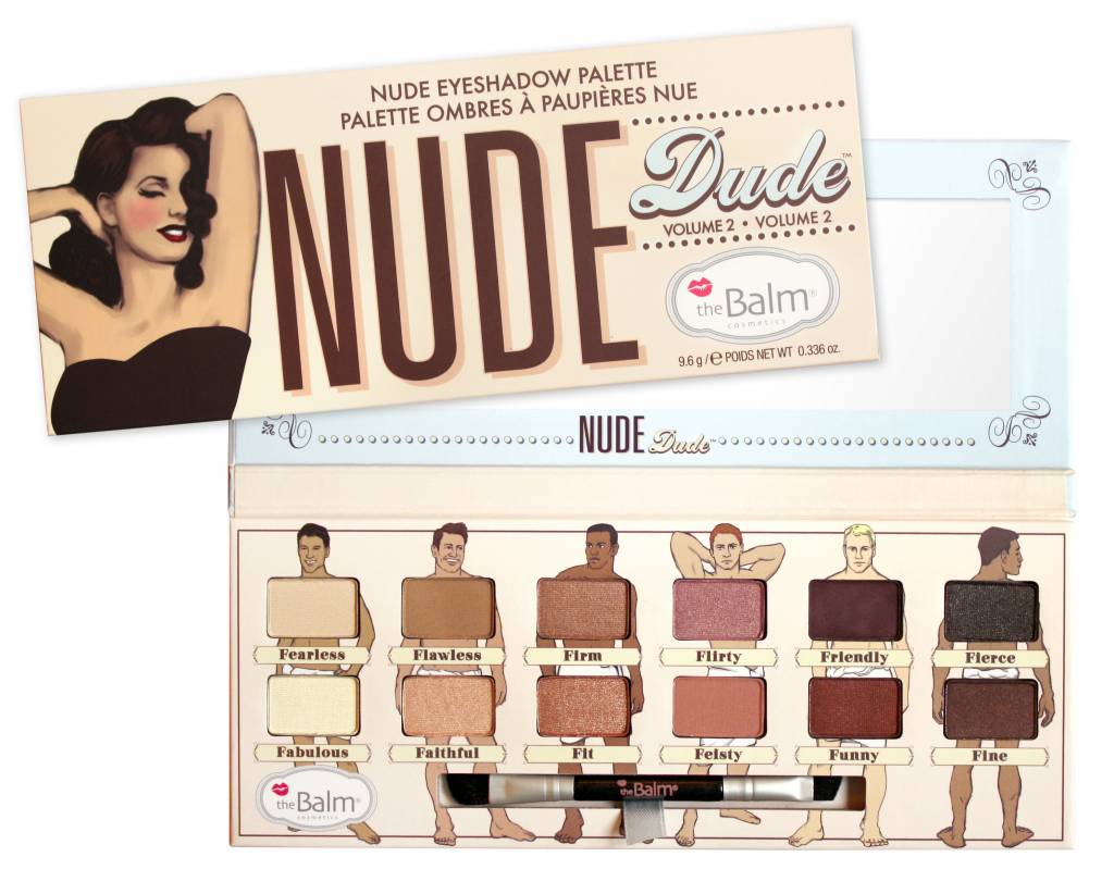 The Balm Nude Dude Eyeshadow Palette
