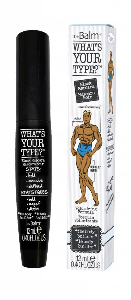 """The Balm What's Your Type Mascara """"the body builder"""""""