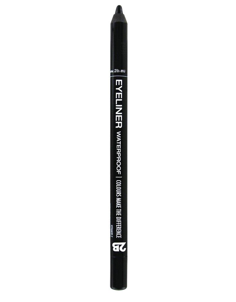 2B Cosmetics Eyeliner waterproof - 07 Black