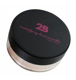 2B Cosmetics Loose Powder 01 Mat