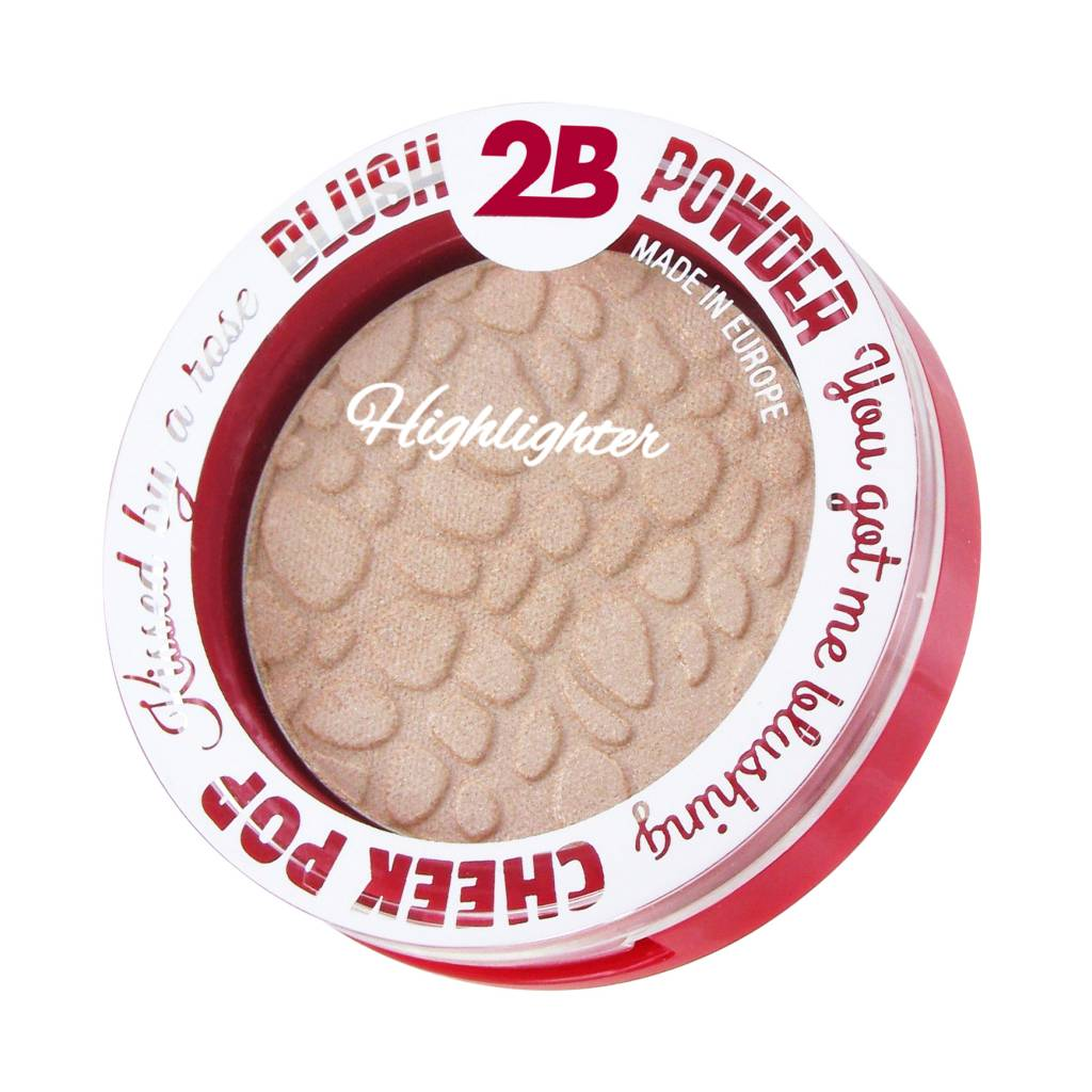 2B Cosmetics Highlighter 01 Silver