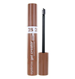 2B Cosmetics Eyebrow Gel Creator 01 Light Brown