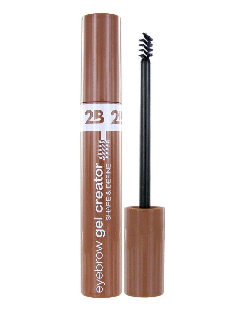 2B Cosmetics Eyebrow Gel Creator 01 Light Brown