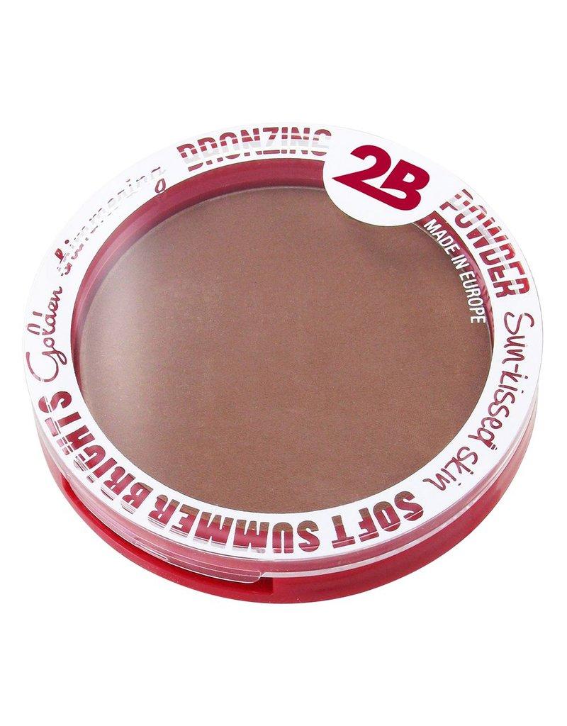 2B Cosmetics Bronzing Powder 01