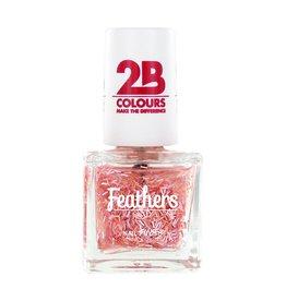 2B Cosmetics Nagellak Feathers 610 Pink