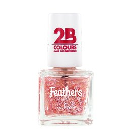 2B Cosmetics Nail polish Feathers 610 Pink