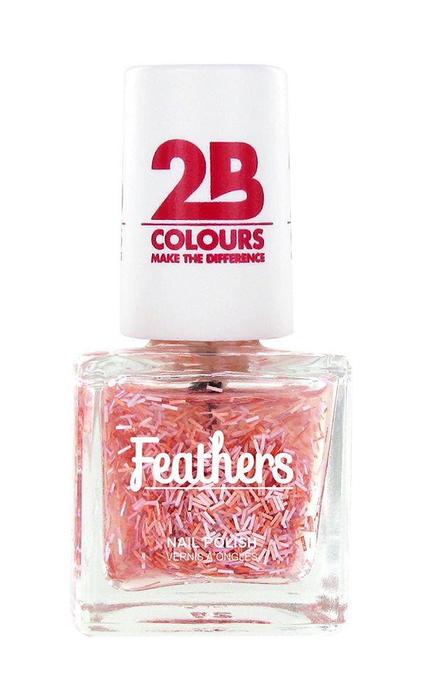 2B Cosmetics Nail polish Feathers 610 Pink