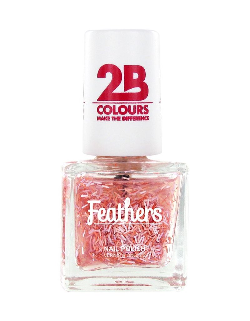 2B Cosmetics Vernis à ongles Feathers 610 Pink