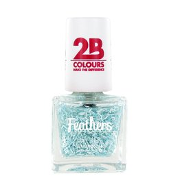 2B Cosmetics Vernis à ongles Feathers 611 Blue