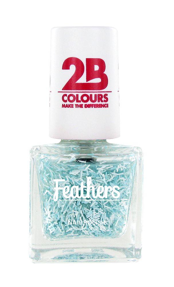 2B Cosmetics Nagellak Feathers 611 Blue