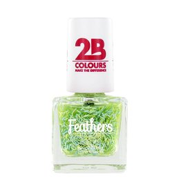 2B Cosmetics Nagellak Feathers 612 Green