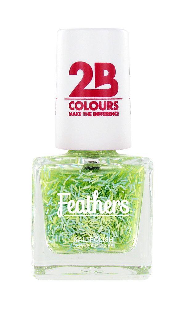 2B Cosmetics Nagellak Feathers 612 Green